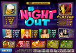 tabella pagamenti slot a night out