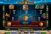 tabella pagamenti slot aztec power