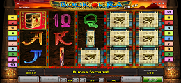 gioco book of ra cards