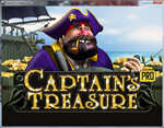 slot machine captain's treasure