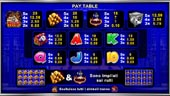 paytable slot Cops 'n Robbers Millionaires Row