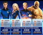 bonus slot fantastic four