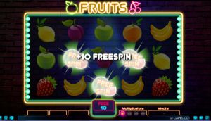 bonus slot fruits