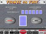 vlt online fruits on fire deluxe