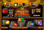 paytable slot hot gems