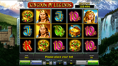 slot machine kingdom of legends