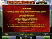 jackpot slot  kingdom of legends