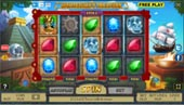schermata slot machine montezuma's treasure