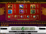 slot machine excalibur